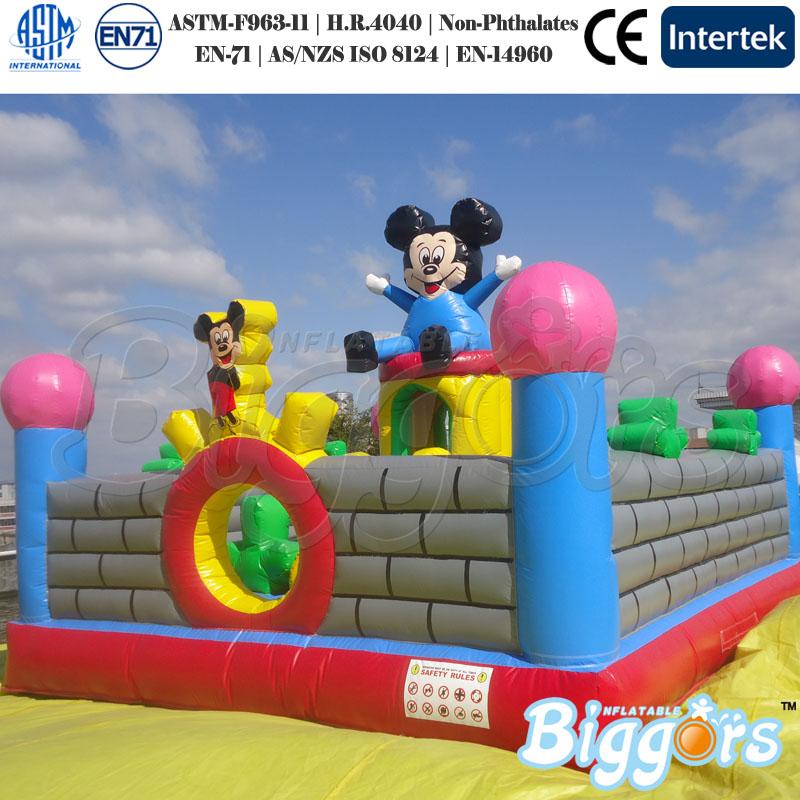 mickey mouse aire de jeux gonflables en plein air location d 39 affaires pour la vente trampoline. Black Bedroom Furniture Sets. Home Design Ideas