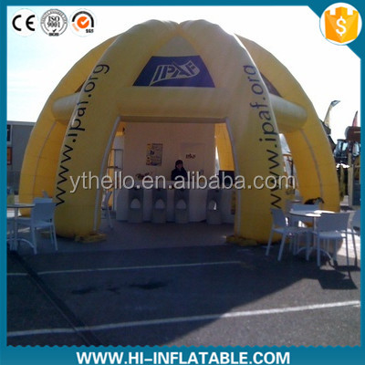 Hot-sale outdoor products sales use inflatable shelter tent for advertising