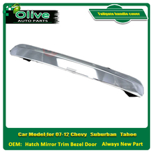 Tailgate handle cover for 07-12 Chevy Suburban Tahoe Hatch Mirror Trim Bezel Door Tailgate handle Truck