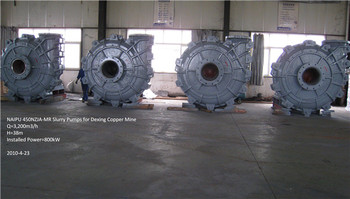 Competitive price slurry pump for gold mine