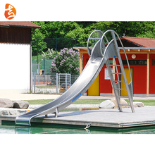 2018 New Outdoor Stainless Steel Large Playground Slide Swimming Pool for Park