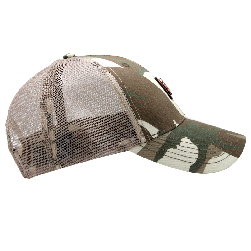 High Quality Army Camo Trucker Hat Mesh Cap
