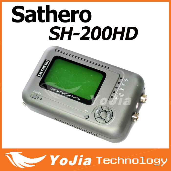 Original Satellite Finder Sathero SH-200HD DVB-S2 Digital Signal Receiver Meter