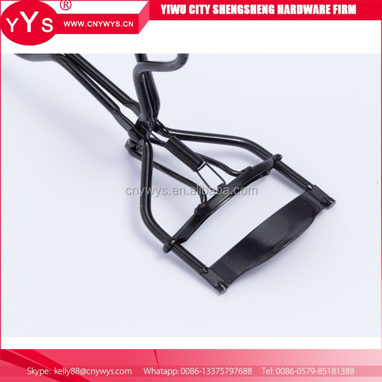 Hot selling 2017 stainless steel tweezers purple eyelash curler