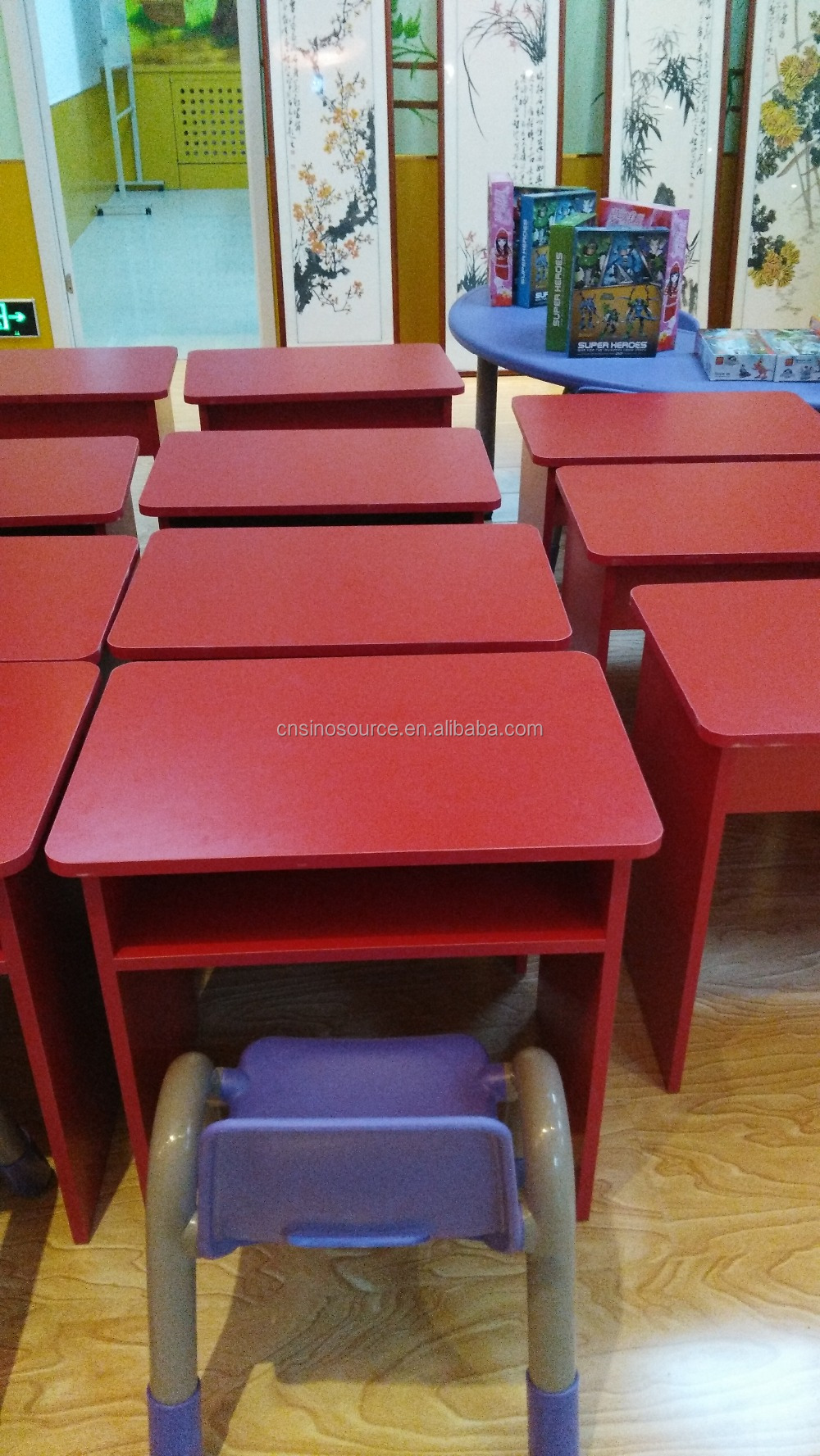 wholesale small puter desk school furniture study table
