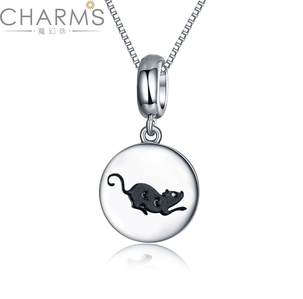 Wholesale Jewelry Charms 925 Sterling Silver Zodiac Pendants