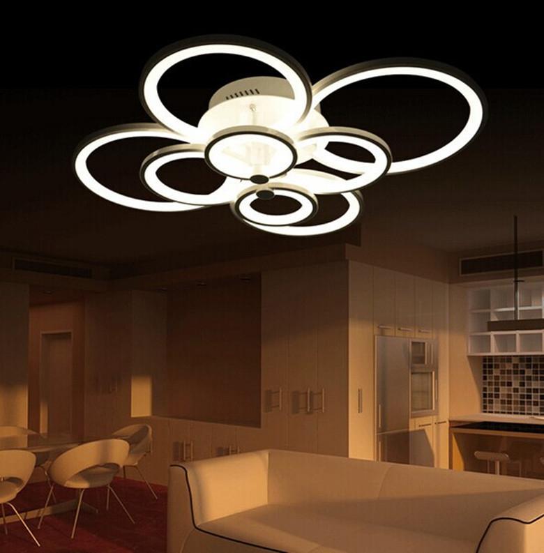 acheter 2015 nouveau led anneau lumineux salon de lampe chambre de plafond. Black Bedroom Furniture Sets. Home Design Ideas