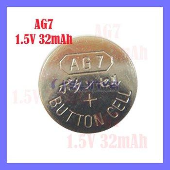 Ag7/l927/lr57/395/399 1.5v Cell Button Battery