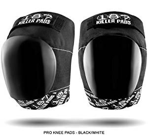 Black/White Pro Knee Pad by 187 Killer Pads (small)