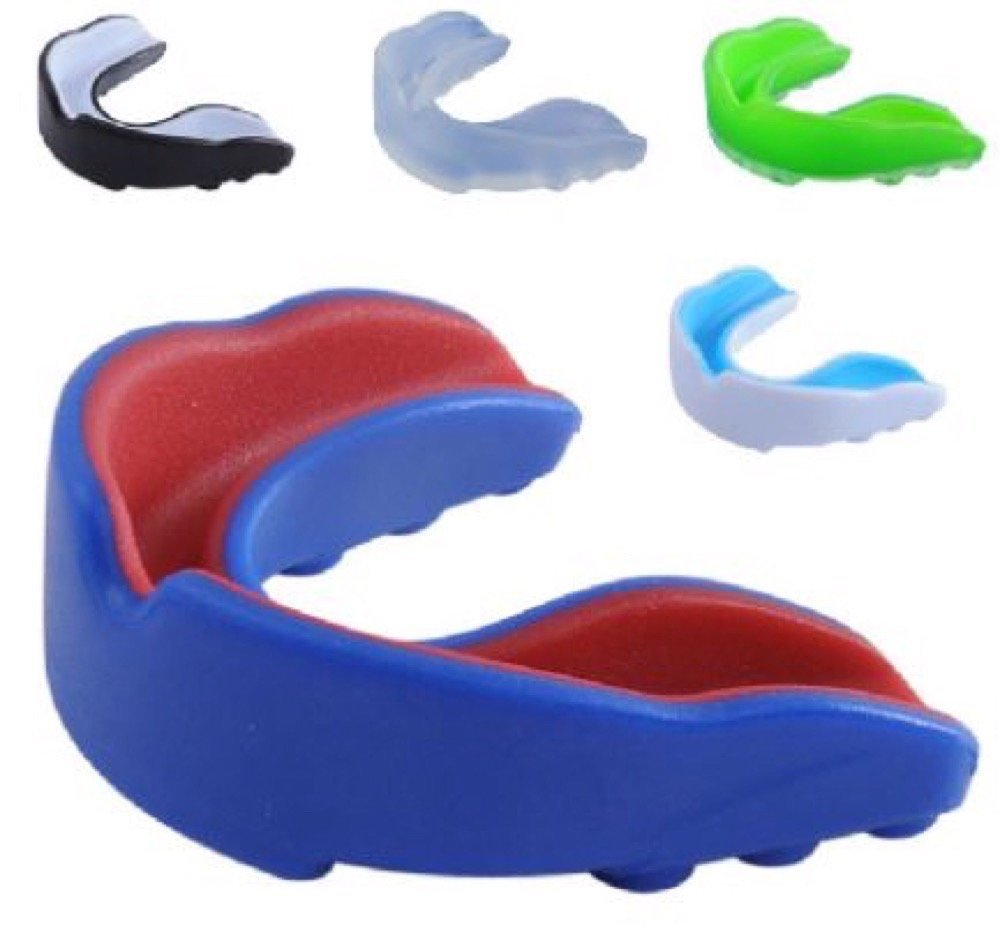 Supadeals Double Sided Mouthguard / Mouthpiece, Teeth Protector For Boxing, Sports, Basketball, Gum Shield Mouth Guard