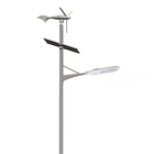 Turbine Wind Solar Hybrid Street Light 60w Solar Street Light Twin Lamps 40W Led Street Light