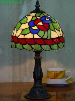 glass modern tiffany reading lamp fixtures table lamp for home or office