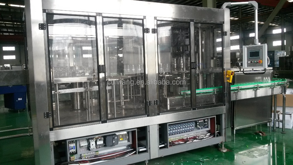 High safety and energy saving distilled water filling production line