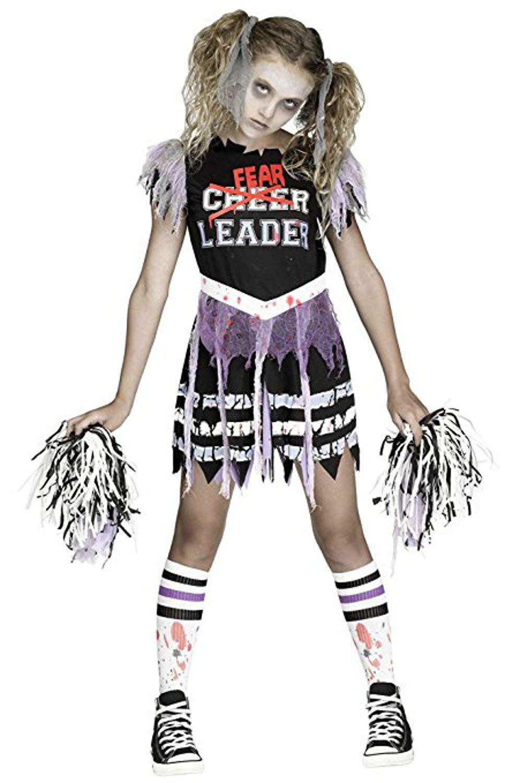 09bccdd1c Get Quotations · Fun World Zombie Fearleader Costume Cheerleader Costume