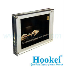 Acrylic Display Frame for Signage at Retail Store
