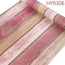 Самоклеющиеся классические ретро деревянные обои papel де parede для гостиной и детской комнаты украшения 45 см * 10 м размер рулона(Китай)