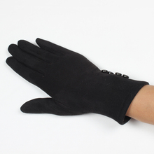 Fashional design winter gloves cycling plain colors touch screen gloves