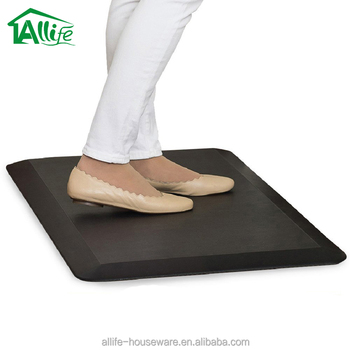 Allife High Quality Rubber Foot Standing Desk Anti Fatigue Comfort Floor Mat For Kitchen Office Buy Anti Fatigue Mat Standing Desk Anti Fatigue