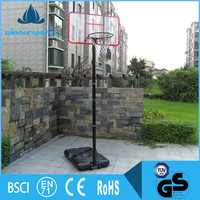 Adjustable Height Portable Basketball Net Stand Pole