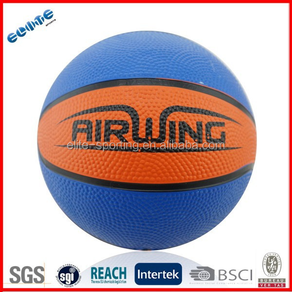 Rubber basketball sale with different sizes