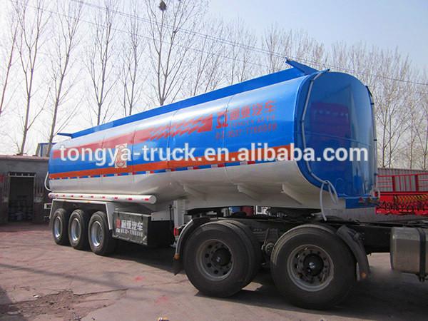 China Best Sellling Fuel Tanker Trailer/fuel Tanker Semi-trailer ...