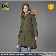 Hot selling unique design well - fitting elegant winter coats, comfortable mature women winter parka