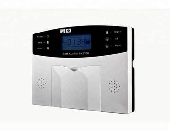 Wireless sistema de alarma contra incendios gprs home alarm system