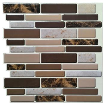 3d Mirror Vinyl Multi Colored Arabesque Kitchen Backsplash Peel And Stick  Wallpaper - Buy Peel And Stick Tile,Wall Paper 3d Wall Tile,Peel And Stick  ...