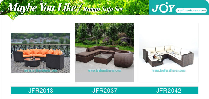 New Coastal Modern Santorini Outdoor Rattan Sectional Sofa Set Patio  Furniture