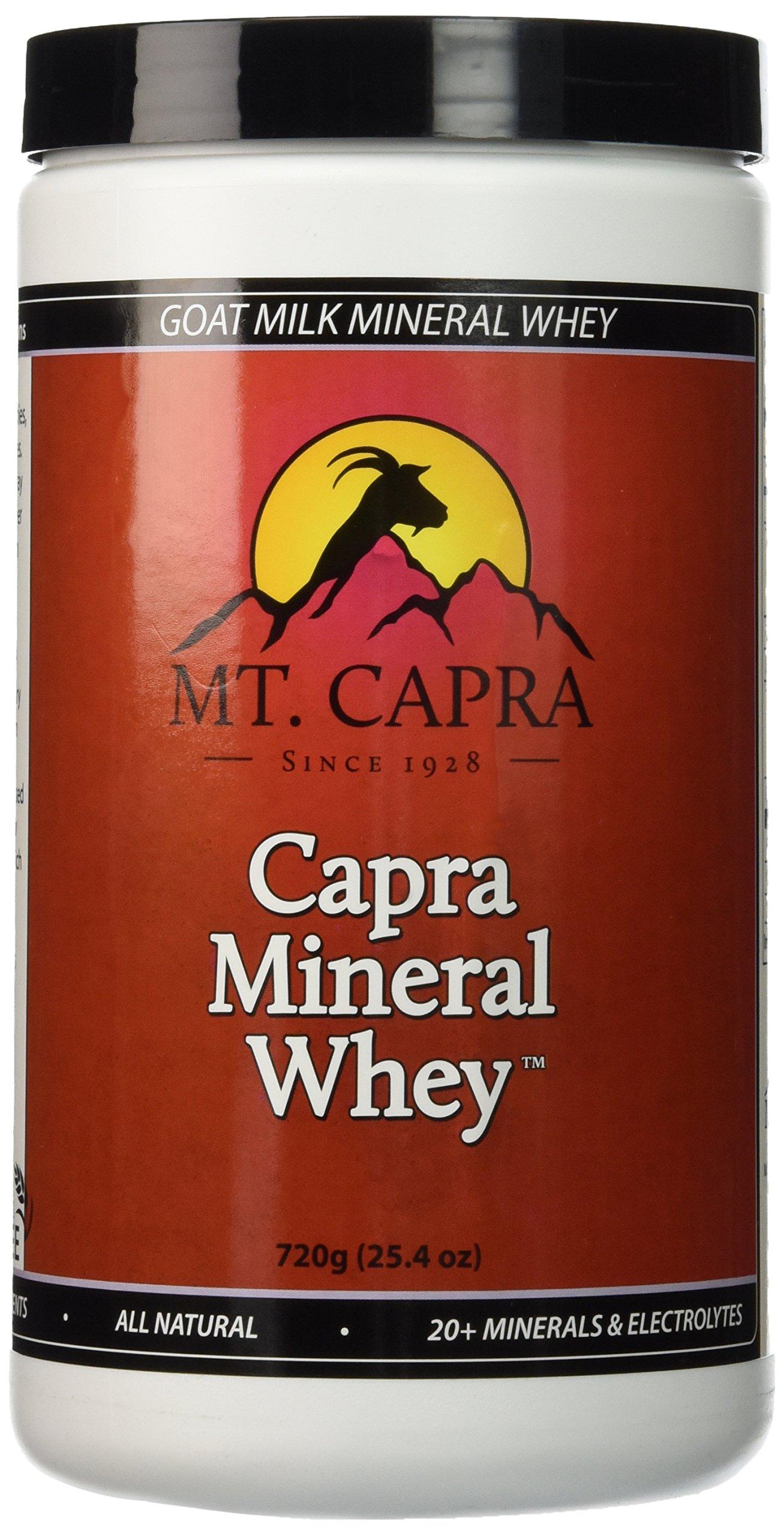 Mt. Capra - Capra Mineral Whey, 720 grams Powder Goat Milk Minerals and Electrolytes From Grass-Fed Pacific Northwest Goats Bio-Organic Potassium, Calcium, Phosphorus, Magnesium Supplement Complex