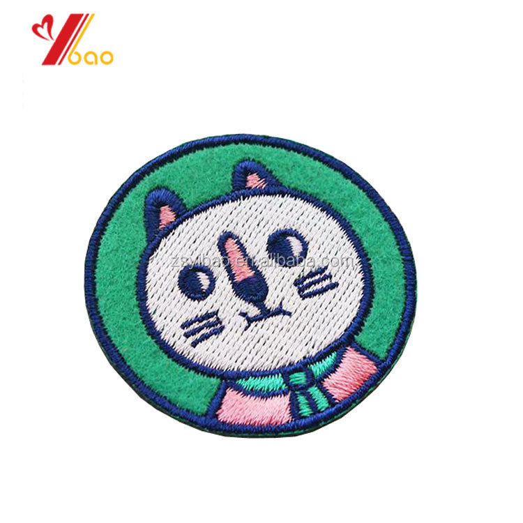 Custom Logo Woven Sport Fabric Patch and Badge for Uniform Clothing with Iron-on Backing