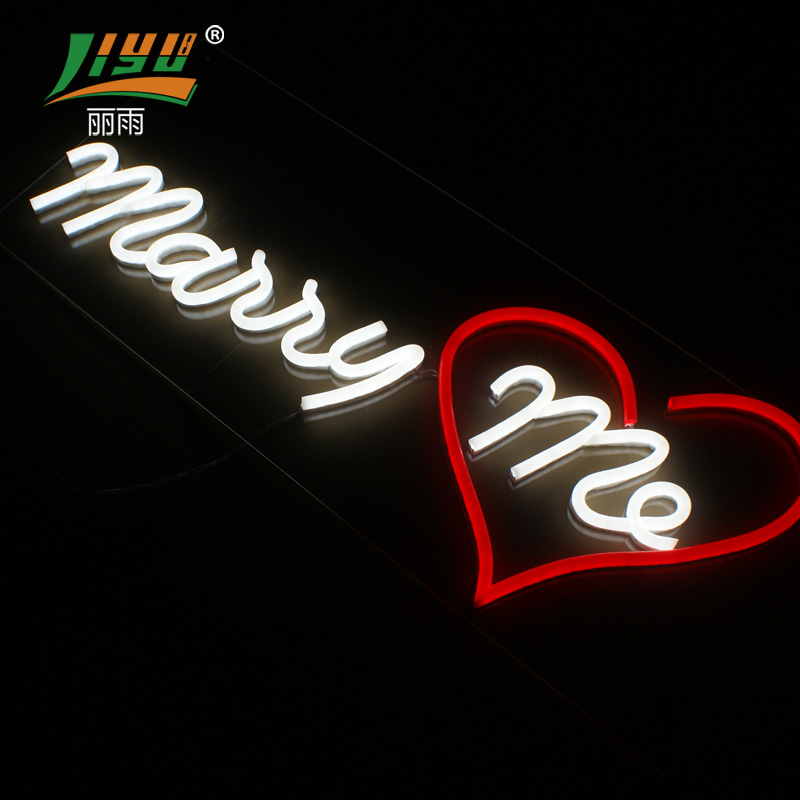 12V custom hanging led letter decoration neon sign light for <strong>wedding</strong>