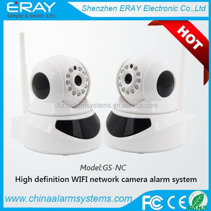 Ip based wifi camera network video car alarm with million HD version
