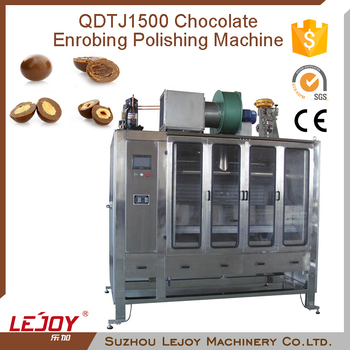 Cheap Price Chocolate Enrobing Polishing Machine