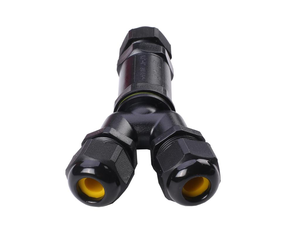 Greenway New Y type designed M685 IP68 waterproof connector