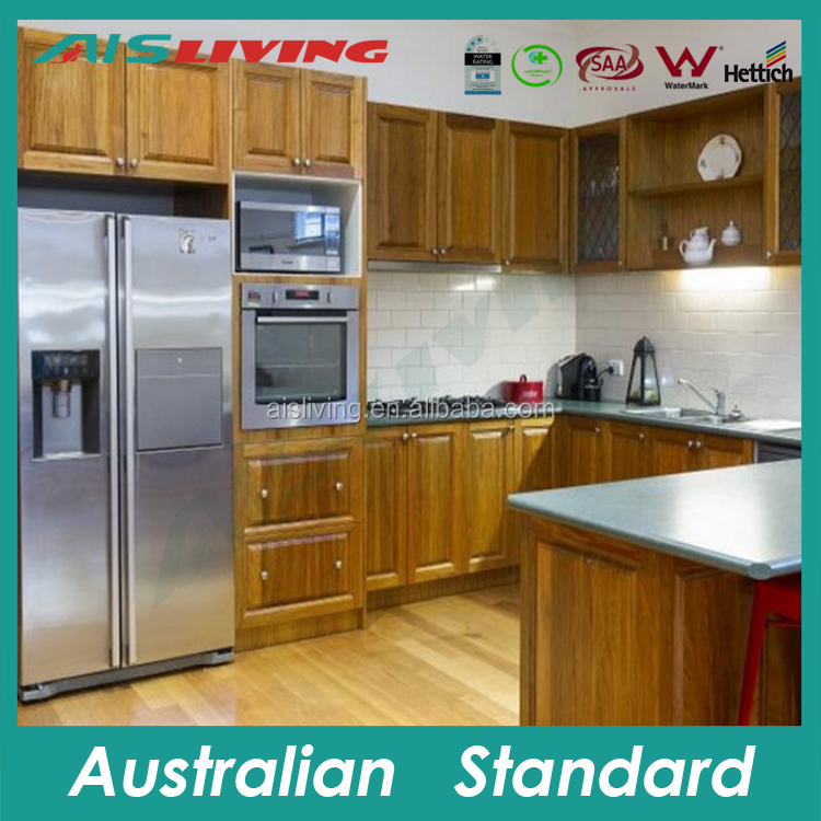 Ais Kc-715 Kitchen Fridge Pantry,Wood Grain Kitchen Cabinet,Budget ...