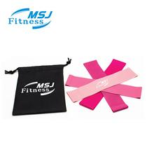 Latex Body Fit Resistance Band Rose สีชมพู