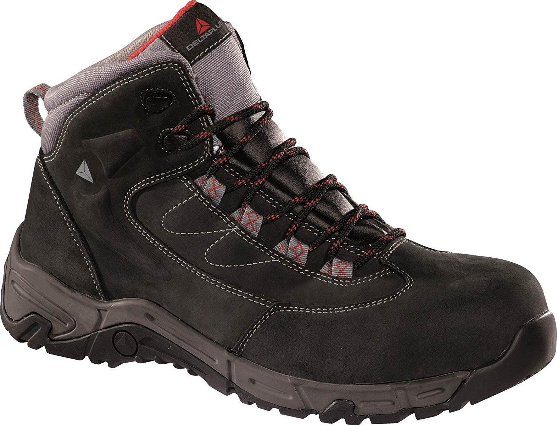 Deltaplus Men's Ohio2S3-Ch Haute Ohio2 S3 Hro Black US Size 11