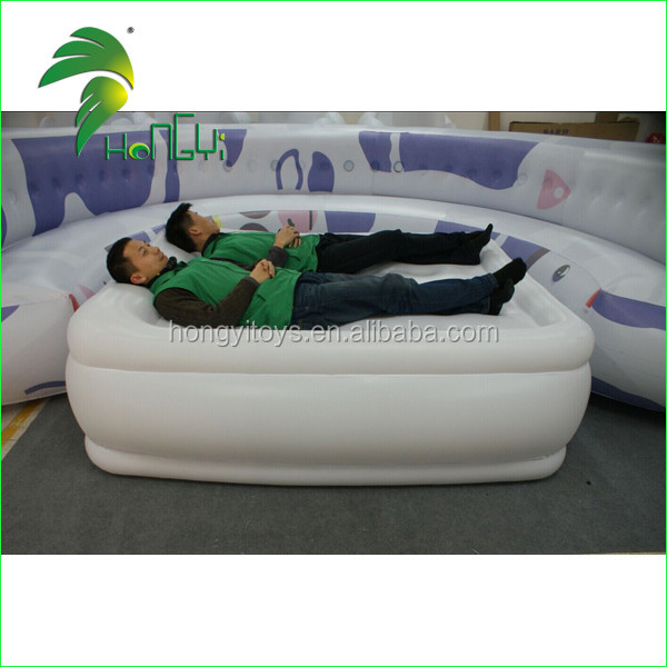 Home furniture cheap self inflating inflatable chair sofa with Inflatable Bed for living room