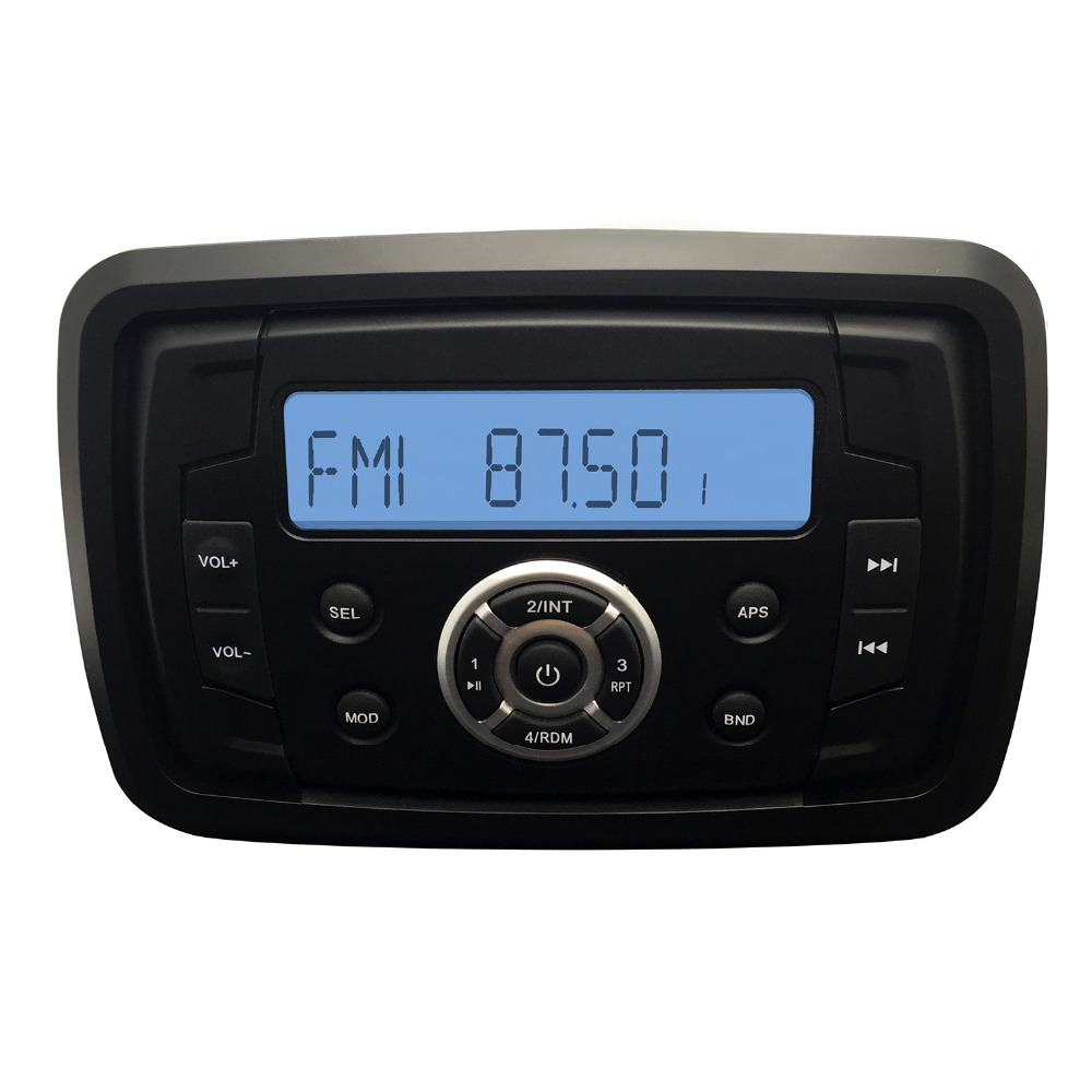 Waterproof Marine Radio Stereo Heavy Duty Utv Atv
