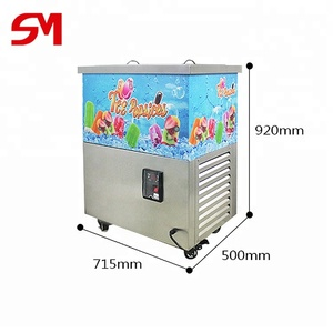 Automatic lowest labor intensity frozen fruit ice cream maker