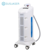 10Hz Repetition rate fast coverage laser diode color microcomputer touch screen 808nm diode laser hair removal machine