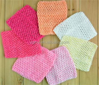 New Baby Girl Elastic Rayon Waffle Headbands Crochet Tutu Tube Tops Chest  Wrap 2aa05edefb8