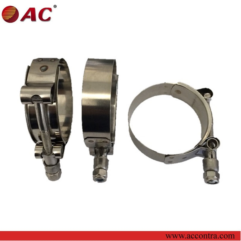 Perfect and nice stainless steel clamp for tube pipe