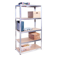 180 x 90 x 40 cm 5 tier metal galvanized storage shelving units shelf rack