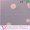 Tulle polyester flock printing mesh fabric