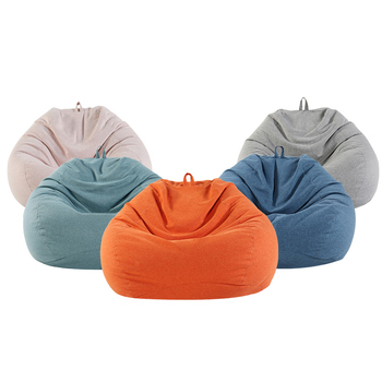 Extra large orange bean bag best bean bag chair furniture for adults