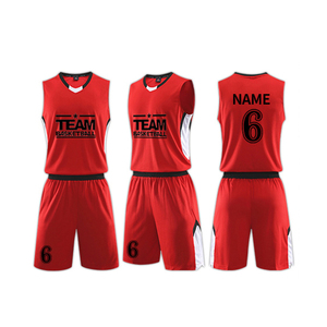 fully customized latest basketball Jersey uniform design 2018
