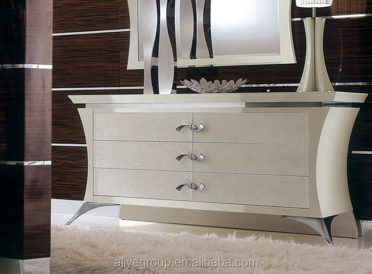 Bl21201a Girls Bed Royal Luxury Bedroom Furniture Carved White Wooden Beds High Quality Bedroom