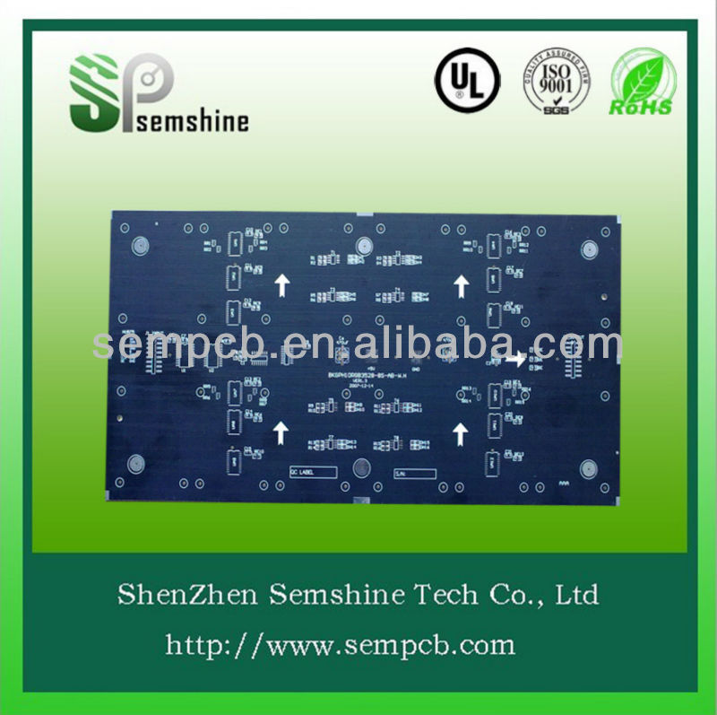 Multilayer printed circuit broad pcb manufacturing for Broadcast system